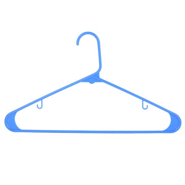 Light Shirt Hanger 42CM 6 Pcs Set -SM Blue