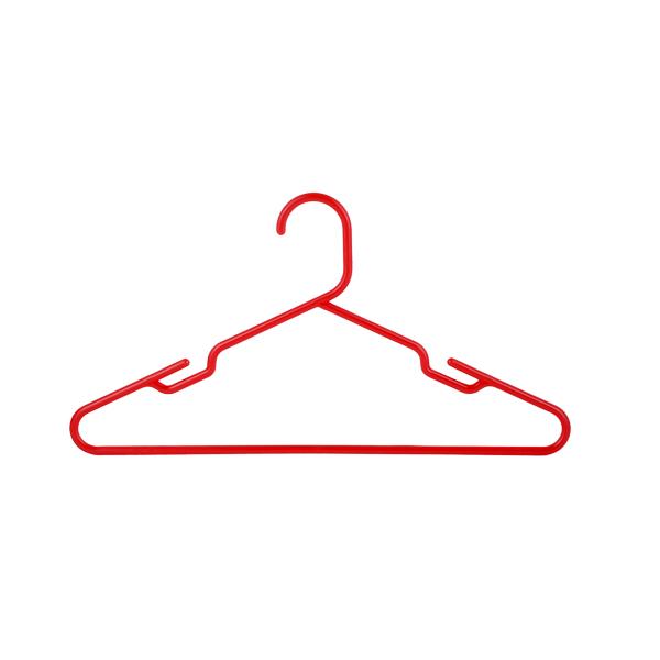 Shirt Hanger 41CM 6 Pcs Set-Red