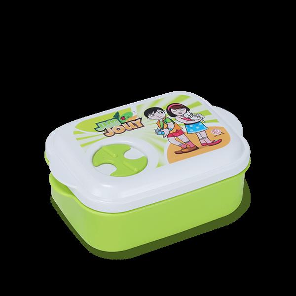 School Tiffin Box-Lime Green
