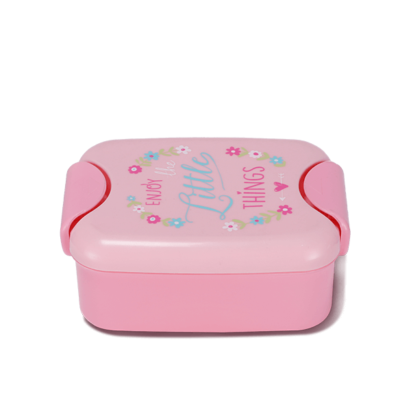 Two Part Tiffin Box- Pearl Pink