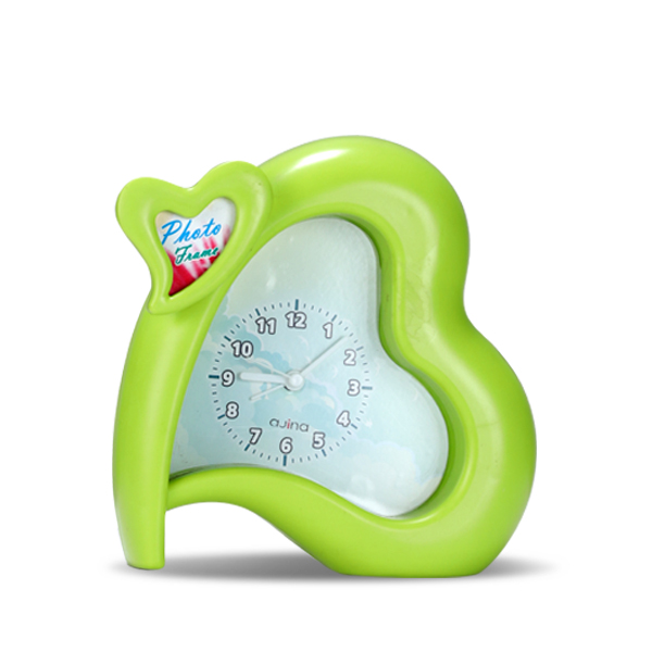 Heart Clock-  Green