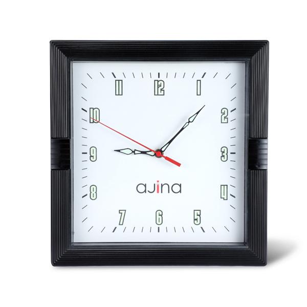 Kito Wall Clock Square-Black