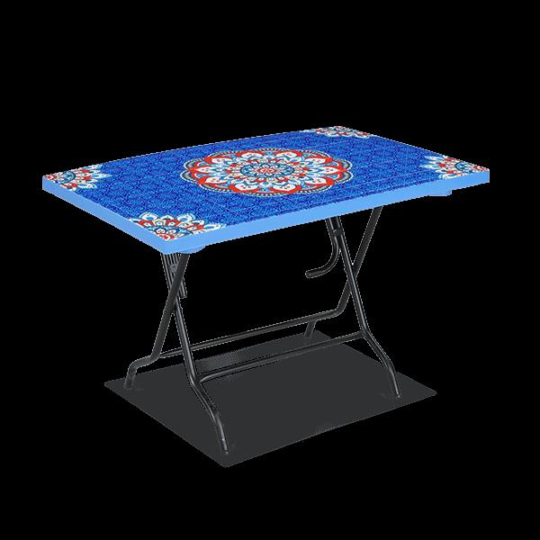 Deco Classic Table 4 Seat S/L Print - Blue Star