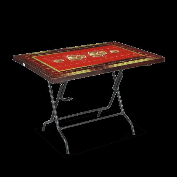 Deco Classic Table 4 Seat S/L Print Rock 3 - RW