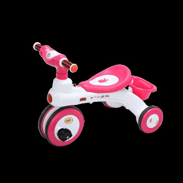 Rock Rider W/O Backrest-3Y Plus-Pink