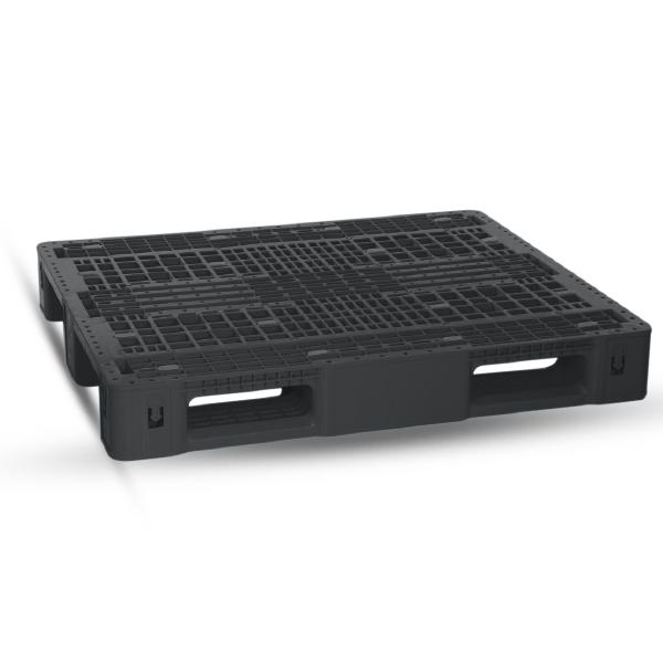 Industrial Pallet Double (120x100x16) CM - Black