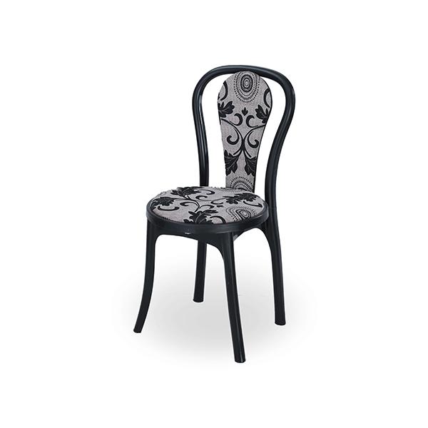 Classic Sofa Chair-Flora-Black