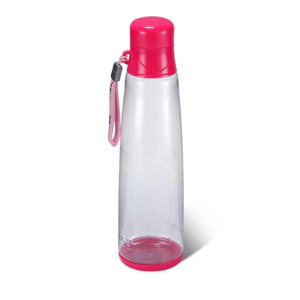 Marbel Water Bottle 450 ML-Deep Pink