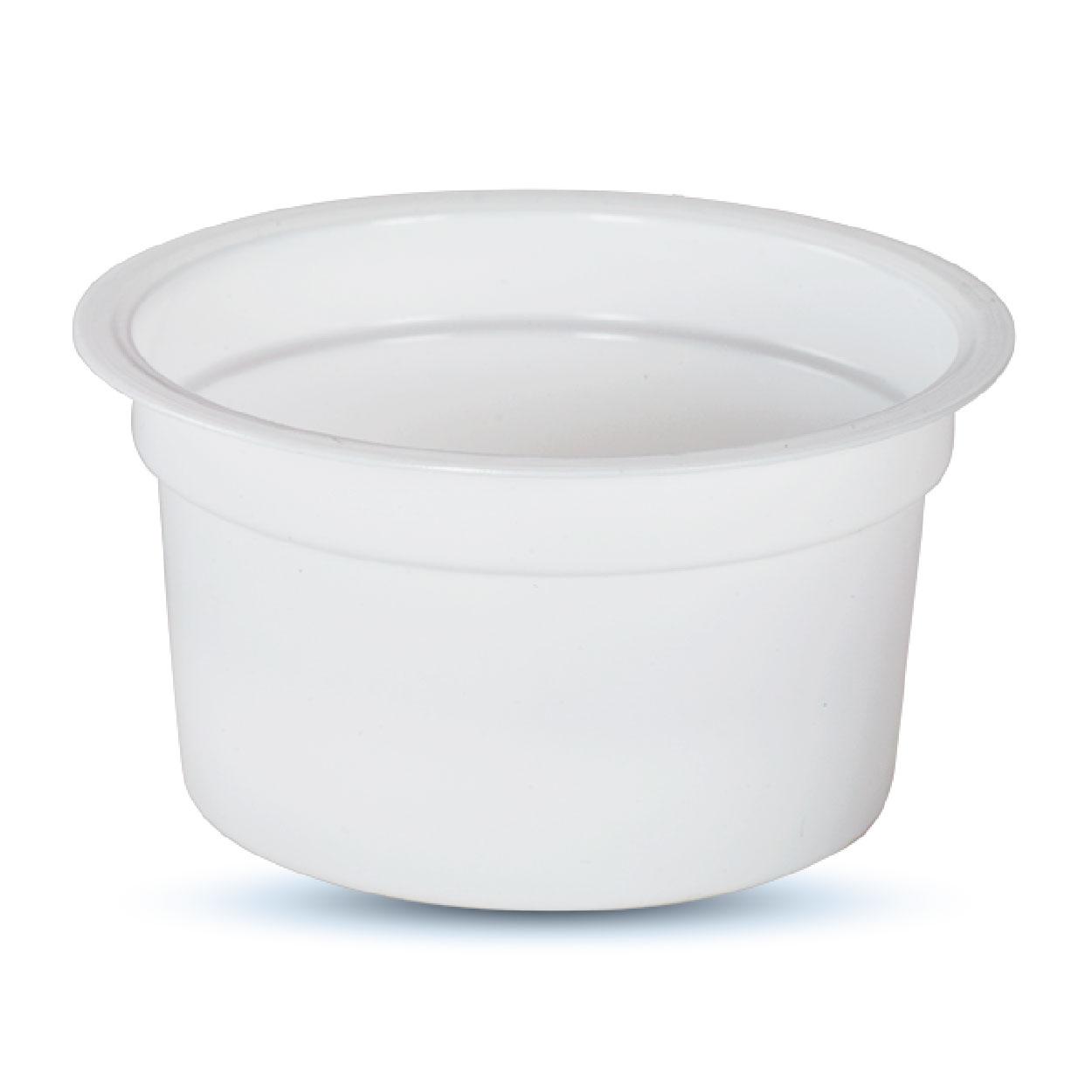 Polar Ice Cream Cup 100 ML Printed-White