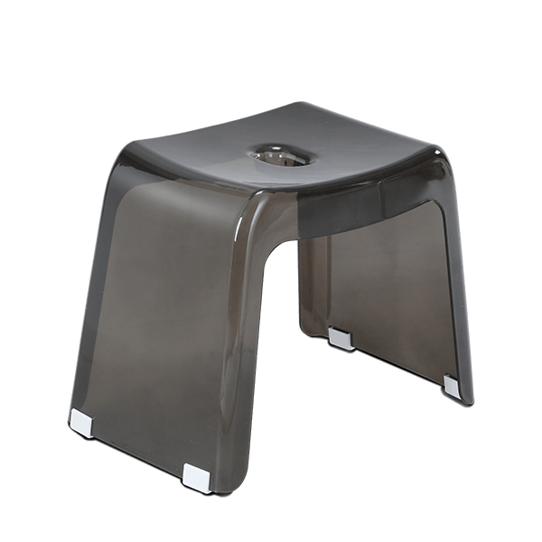 Transpa Deluxe Stool - Trans Bronze