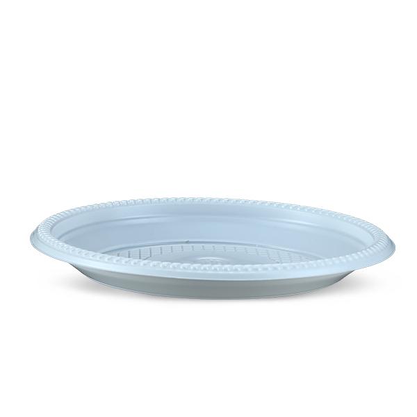 Plate 50 Pcs Set-9 CM-White