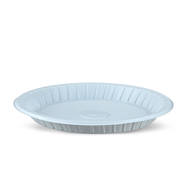 Plate 50 Pcs Set- 21 CM-White