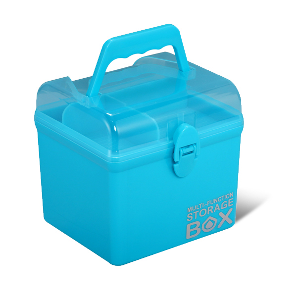 Multipurpose Sq Box-Light Blue